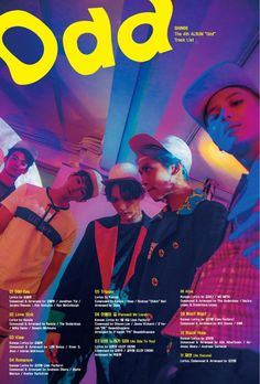 SHINee continue to leave us intrigued with more teaser images and tracklist for 4th album 'Odd' | allkpop.com