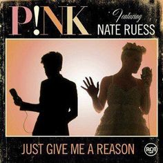 Just Give Me Reason- Pink ft Nate Ruess..  Addicted to this song at the moment. :)