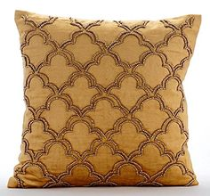 Luxury Gold Cushion Covers, Gold Beaded Lattice Trellis T... https://www.amazon.com/dp/B016H8WB0A/ref=cm_sw_r_pi_dp_x_nXlbybCQQY518
