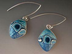 Ocean Blue Earrings   Flickr - Photo Sharing!