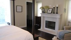 Master bedroom/Fireplace