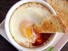 Baked Eggs in Spicy Tomato Sauce | Tasty Kitchen Blog