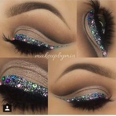 Great for little sisters prom makeup