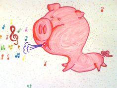 """Redewendung des Tages:  """"Ich glaub, mein Schwein pfeift!"""" Bedeutung: """"Das kann ja wohl nicht wahr sein!"""" http://german-courses-heidelberg.com/en/"""
