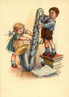 Saxophone Instrument, Saxophone Sheet Music, Saxophone Players, Clarinet, Vintage Saxophones, Art Of Noise, Jazz Art, Poster, Music Stuff
