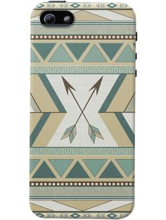 DailyObjects Aztec Pattern Arrows Case For iPhone 5/5S #dailyobject #loujah #case #mobilecase #iphonecase #india
