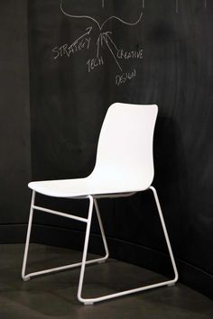 naughtone Polly chair www.naughtone.com #Grey #Yellow #Pink #Blue #Black #White #Chair #Furniture #Design #Product #interiors #office #contract #commercial #designideas #architecture