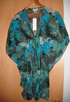 Mis caprichos y abalorios: PONCHO PRINT DRESS Con estilo y en estampados dive...