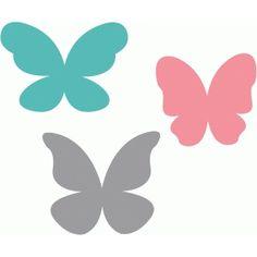 Silhouette Design Store - Search Designs : butterflies