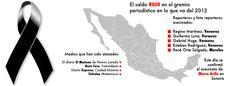 periodistas asesinados en México 2012