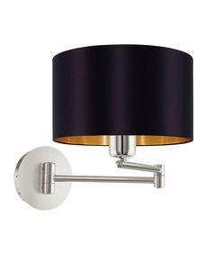 95054-Maserlo-Vegglampe-Sort