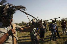 "Brazilian tribe vows ""mass resistance"""