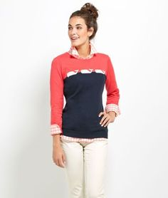 Shop cotton sweater at vineyard vines | Intarsia Whale |  Intarsia Wood Patterns  | Learn Intarsia Woodworking | Intarsia Sanding Tools | Intarsia Angels. #wolfeboro #What to Wear Preppy Style, My Style, Classy And Fabulous, Sweater Shop, Cotton Sweater, Dress Me Up, Pretty Outfits, Autumn Winter Fashion, Dress To Impress