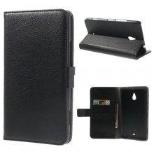 Capa Nokia Lumia 1320 Livro Carteira Preta R$45,20