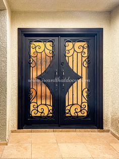 🤩🤩🤩 A door can be so much more than just a way to get from one place to another. An iron door can be decorative and full of character! -- ☎️☎️☎️ Call 877-205-9418 for Orders and Inquiries 💰💰💰 Ask us about our EXCEPTIONAL OFFERS 🆓🆓🆓 Take advantage of FREE CONSULTATION and FREE DESIGN ⚠️⚠️⚠️ About this Beautiful IRON DOOR: Custom Santa Barbara Double Entry Iron Door, Right-Hand Inswing. -- #modernirondoors #entrydoors #steeldoors #freeconsultation #glassgaragedoor #homeimprovement Glass Garage Door, Wrought Iron Doors, Steel Doors, Entry Doors, Free Design, Home Improvement, This Is Us, Beautiful
