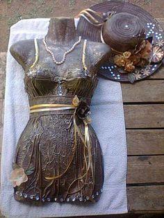 Sculpture Art, Sculptures, Head Planters, Mannequin Heads, Paperclay, Garden Crafts, Dress Form, Hobbies And Crafts, Beautiful Artwork