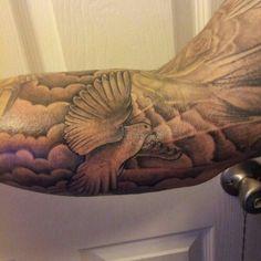 dove cloud rose tattoo - Google zoeken
