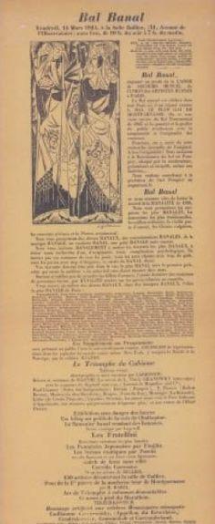 * Bal banal mars 1921 - Gontcharova