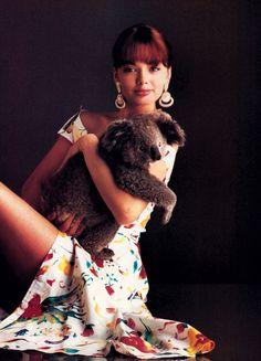Jill Fitzsimon, Harper's Bazaar, March 1986. Photograph by Vincent de Marly.