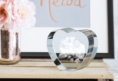 Keep your memories forever in a beautiful 3D Laser Crystal!