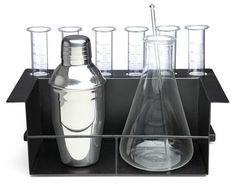 Kit de coctelería del profesor Bacterio