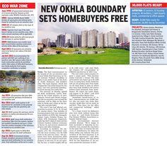 #NewOkhla Boundary Sets #Homebuyers Free!!  www.crsgroupindia.com  #RealEstate #NCRProperty #Apartments