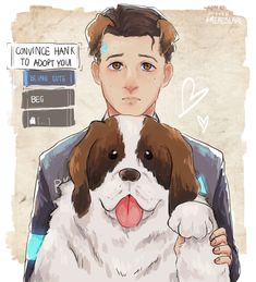 I love Connor... he's such an adorable cinnamon roll <3 Detroit: Become Human