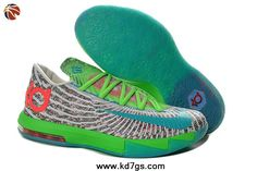 Gamma Blue Dusty Grey - Flash Lime 618216-400 DC Preheat Womens Nike KD 6