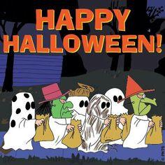 Happy Halloween! #Peanuts #Halloween