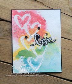 Craft-somnia Momma: Rainbow of Hearts ~ Monday Montage