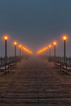 Muelle de linterna, Sant Francisco, California