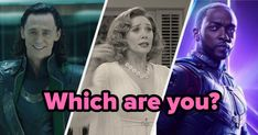 """Are You More """"WandaVision,"""" """"Loki,"""" Or """"Falcon And The Winter Soldier"""" Based On How You Name Your Babies? Mary Elizabeth, Print Wallpaper, Your Name, New Shows, Winter Soldier, Trending Topics, Quizzes, Loki, Conversation"""