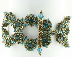 Beading Tutorial Victorian Ornament by KellyWiese on Etsy