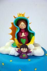 virgencitas y angeles en porcelana fria - Buscar con Google