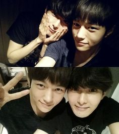 Group Super Junior member Ryeowook and INFINITE member L showed off their cute side through a photo. http://www.kpopstarz.com/tags/super-junior