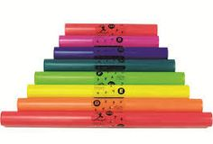 Boomwhackers C Major Diatonic Scale Set ~    a wonderful music activity for all ages!