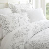 Merit Linens Premium Ultra-soft Vine Pattern 3-piece Duvet Cover Set Full Duvet Cover, Bed Duvet Covers, Comforter Sets, Duvet Cover Sets, Pillow Shams, Floral Comforter, Duvet Insert, Navy Duvet, King Comforter
