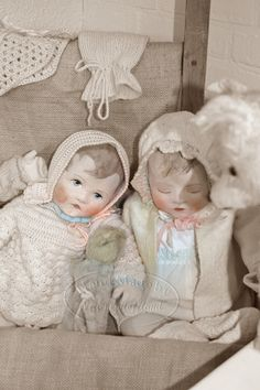 **i made my dolls with love**