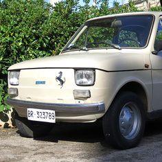 Found in Ostuni, Puglia. A fine example of Italy's Fiat 500 (Cinquecento) born in 1957.