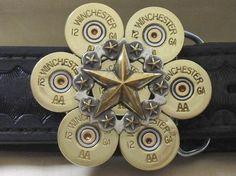 Empty Shotgun Shells & Brass by CraftSuppliesDepot Ammo Crafts, Hunting Crafts, Bullet Crafts, Diy Crafts Jewelry, Jewelry Ideas, Bullet Ring, Bullet Shell, Shotgun Shell Crafts, Shotgun Shells