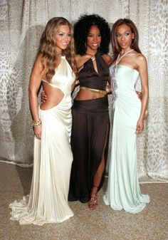 Beyoncé , Kelly Rowland & Michelle Williams Of Destiny's Child, All Wearing Roberto Cavalli