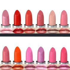 12 Colors Moisturizing Long Lasting Bright Cosmetic Makeup Lipstick