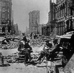 LES ARCHIVES DU FIGARO- Il y a 110 ans, la ville de San Francisco est ravagée par un séisme de magnitude 8,2 sur l'échelle de Richter, suivi d'un gigantesque incendie.