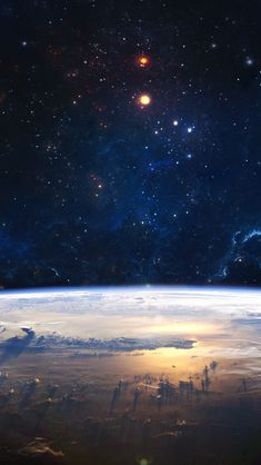 Starry Outer Space #iPhone #5s #Wallpaper