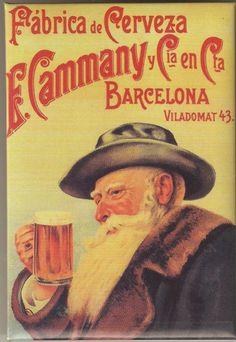 Fábrica de Cervezas E. Cammani y Cia, Barcelona.