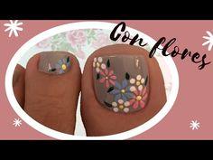 Pretty Toe Nails, Pretty Toes, Toe Nail Designs, Toe Nail Art, Pedicure, Grey, Black, Toenails, Chic Nails