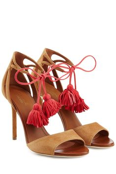 #Valentines #AdoreWe #STYLEBOP.com (FR/NL/IT) - #Malone Souliers Malone Souliers Ida Suede Sandals with Tassels - AdoreWe.com
