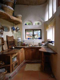 кухня для натурального дома