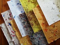 How to Make Hand Made Paper Using Upcycled by againstthegrain13, $9.00