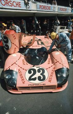 "The Porsche ""Pig"" at Le Mans."